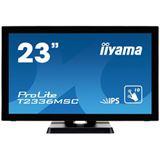 "23"" (58,42cm) iiyama T2336MSC-B2 Touch schwarz 1920x1080 1xDVI / 1xHDMI 1.3 / 1xVGA"