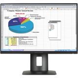 "24"" (60,96cm) HP Z Display Z24N schwarz 1920x1200 1xDisplayPort / 1xDVI / 1xHDMI / Mini Display Port"