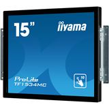 "15"" (38,10cm) iiyama ProLite TF1534MC-B1X schwarz 1024x768 1xDVI / 1xVGA"