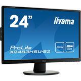 "23,8"" (60,47cm) iiyama X2483HSU-B2 schwarz 1920x1080 1xDVI / 1xHDMI 1.3 / 1xVGA"