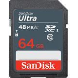 64 GB SanDisk Ultra SDXC Class 10 Retail