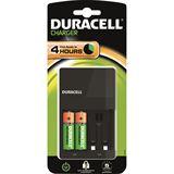 Duracell Ladegerät CEF14 inkl.2xAA 1300mAh 2x AAA 750mAh