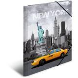 "Herma Eckspannermappe ""Trendmetropolen New York"", PP, A4"