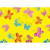 """Susy Card Geschenkpapier """"Schmetterlinge gelb"""", auf Rolle"""