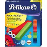 Pelikan hochwertige Wachsknete Nakiplast 196/7, sortiert