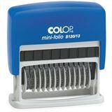 COLOP Ziffernstempel Mini Dater S120/13, 13-stellig