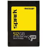 """512GB Patriot Spark 2.5"""" (6.4cm) SATA 6Gb/s (PSK512GS25SSDR)"""