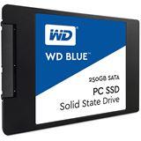 """250GB WD Blue 2.5"""" (6.4cm) SATA 6Gb/s TLC Toggle (WDS250G1B0A)"""