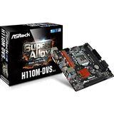 ASRock H110M-DVS R3.0 Intel H110 So.1151 Dual Channel DDR4 mATX Retail
