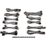 Corsair Premium Pro Sleeved Kabel-Set - weiß/schwarz