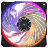 Antec Rainbow 120 RGB 120x120x25mm 1200 U/min 24.8 dB(A) schwarz/transparent