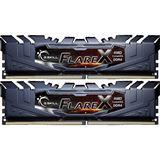 32GB G.Skill Flare X schwarz DDR4-2400 DIMM CL16 Dual Kit