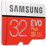 32 GB Samsung EVO Plus microSDXC Class 10 UHS-I Retail inkl. Adapter auf SD