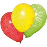 "Susy Card Luftballons ""Happy Birthday"", farbig sortiert"