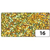 folia Holografie-Klebefolie, 400 mm x 5 m, Dots gold