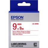 Epson Band standard 9mm rot/weiß