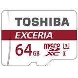 64 GB Toshiba Exceria M302-EA microSDXC Class 10 UHS-I U3 Retail inkl. Adapter