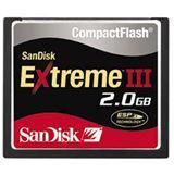 2GB SanDisk CompactFlash Card (CF) Extreme III bulk