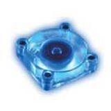 Akasa Cool Blue 40x40x10mm 5000 U/min 23 dB(A) transparent