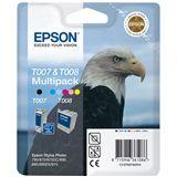 Epson Tinte C13T00740310 schwarz, cyan, magenta, gelb, cyan hell, magenta hell