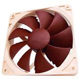 Noctua NF-P12 120x120x25mm 1300 U/min 20 dB(A) braun/beige
