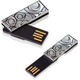4 GB Transcend JetFlash V90C silber USB 2.0