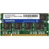 1GB ADATA Value DDR-333 SO-DIMM CL2.5 Single