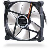 Noiseblocker NB-Multiframe M12-2 120x120x25mm 1250 U/min 19 dB(A) schwarz/transparent