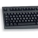 CHERRY G83-6236LRPDE-2 XXL Tastatur Schwarz Deutsch PS/2