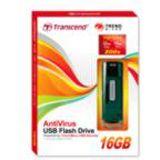 16 GB Transcend Jetflash V15 schwarz/silber USB 2.0