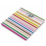 Beurer Personenwaage GS 27 HappyStripes+Handtuch