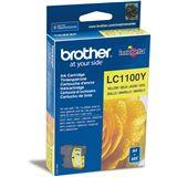 Brother Tinte LC1100Y gelb