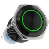 LAMPTRON Blackline grüner Vandalismusschalter für Gehäuse (LAMP-SW1613L-S)