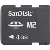 4 GB SanDisk M2 Memory Stick Micro Bulk