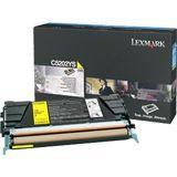 Lexmark C530 Tonerkartusche gelb 1.500 Seiten