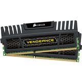 4GB Corsair Vengeance schwarz DDR3-1600 DIMM CL9 Dual Kit