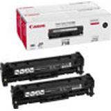 Canon Toner 718 black Twinpack (ca. 6800 Seiten)