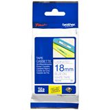Brother TZE243 PTOUCH 18mm W-B