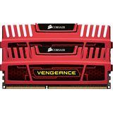16GB Corsair Vengeance rot DDR3-1866 DIMM CL9 Quad Kit