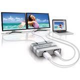 Matrox DualHead2Go Digital ME externer multi-Display Adapter für 2x Displayport (D2G-DP2D-MIF)