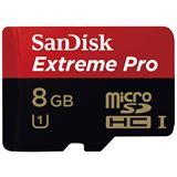 8 GB SanDisk Extreme Pro microSDHC Class 10 Retail