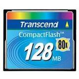 128 MB Transcend Ultra Compact Flash TypI 80x Bulk