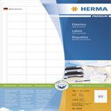 Herma 4606 Universal-Etiketten 3.81x2.12 cm (200 Blatt (13000 Etiketten))
