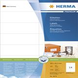 Herma 4674 Premium Universal-Etiketten 10.5x3.7 cm (100 Blatt (1400 Etiketten))