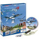 Jamara Flugsimulator Easy JAM Easy Fly 4 Starter Set GC