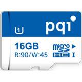 16 GB PQI Thunder microSDHC UHS-I Retail inkl. Adapter auf SD