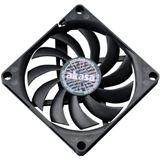 Akasa Slimfan 80x80x10.8mm 600-3000 U/min 27.09 dB(A) schwarz
