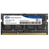 4GB TeamGroup Elite Series DDR3-1333 SO-DIMM CL9 Single