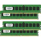 16GB Crucial CT4K4G4DFS8213 DDR4-2133 DIMM CL16 Quad Kit
