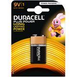 Duracell Plus Power 6LR61 Alkaline E Block Batterie 9.0 V 1er Pack